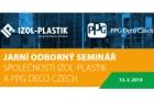 Jarní odborný seminář o ochranných nátěrových systémech ocelových konstrukcí a hydroizolací plochých střech
