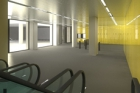 Oprava stanice metra Národní třída se blíží do závěrečné fáze