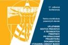 Konference Teória a konštrukcie pozemných stavieb