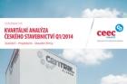 CEEC Research: Kvartální analýza českého stavebnictví Q1/2014