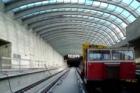 Na stavbě prodloužení metra A jsou dokončeny hrubé stavební práce