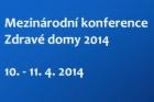 Konference Zdravé domy 2014