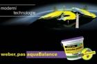 Weber.pas aquaBalance – omítka, která umí regulovat vlhkost