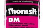 Thomsit DM – nová hladká stěrka pro vrstvy 0,5–10 mm