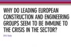 Studie Mazars: Velké evropské stavební a inženýrské společnosti i během krize rostly