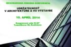 Konference Udržitelnost v architektuře a ve výstavbě
