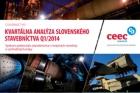 CEEC Research: Kvartálna analýza slovenského stavebníctva Q1/2014