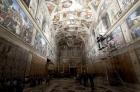 Osvětlení pro Sixtinskou kapli