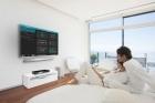 Ovládání tepelného čerpadla přes chytrou televizi